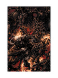 Ghost Rider No.5 Cover: Ghost Rider Fighting Posters