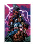 New Avengers 1 Cover: Spider-Man Posters par David Finch