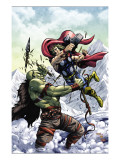 Marvel Adventures Super Heroes No.11 Cover: Thor Prints by Tom Grummett