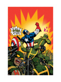 Captain America V4, 29 Cover: Captain America Prints by Dave Johnson