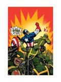 Captain America V4, No.29 Cover: Captain America Prints by Dave Johnson