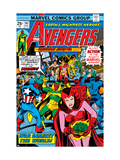 Avengers No.147 Cover: Scarlet Witch Posters by George Perez