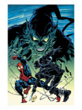 Amazing Spider-Man 513 Cover: Spider-Man, Green Goblin and Stacy Twins Prints by Mike Deodato Jr.