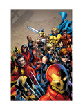 Giant-Size Avengers No.1 Cover: Iron Man Poster by Bryan Hitch