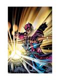 Hawkeye V2 No.4 Cover: Hawkeye Prints by Porter Howard
