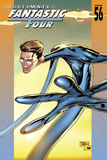 Ultimate Fantastic Four No.56 Cover: Mr. Fantastic Fighting Prints by Tan Billy