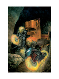 Ghost Riders: Heavens On Fire 3 Cover: Ghost Rider Prints by Pastoras Das