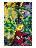 Marvel Adventures Spider-Man No.48 Group: Spider-Man, Electro and Scorpion Prints by Jonboy Meyers