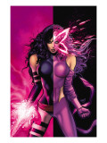 Uncanny X-Men 509 Cover: Psylocke Prints by Land Greg