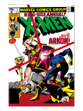 X-Men Annual 3 Cover: Cyclops, Arkon and X-Men Posters par Frank Miller