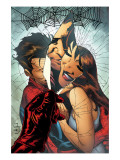 The Amazing Spider-Man No.545 Cover: Spider-Man, Peter Parker, and Mary Jane Watson Art by Joe Quesada