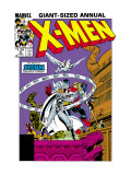X-Men Annual No.9 Cover: Storm and Colossus Prints by Arthur Adams