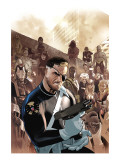 Dark Reign: New Nation 1 Cover: Nick Fury Posters by Daniel Acuna