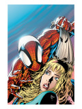 The Amazing Spider-Man No.511 Cover: Spider-Man, Stacy and Gwen Art by Mike Deodato