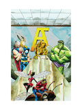 Avengers Classics No.1 Group: Hulk, Thor and Iron Man Print