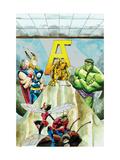 Avengers Classics No.1 Group: Hulk, Thor and Iron Man Print