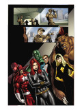 Civil War: House Of M No.2 Group: Black Widow, Darkstar and Red Guardian Prints by Andrea Di Vito