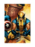The New Avengers No.3 Cover: Wolverine Posters by Coipel Olivier