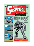 Tales of Suspense 39 Cover: Iron Man Poster by Jack Kirby