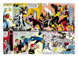 Uncanny X-Men #142 Group: Shadowcat Kunst van John Byrne