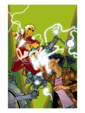 Warlock 4 Cover: Adam Warlock, Chin and Janie Poster by Adlard Charlie