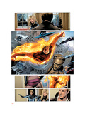Ultimate Fantastic Four 28 Group: Human Torch Prints by Land Greg