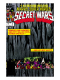Secret Wars No.4 Cover: Hulk and Captain America Posters by Bob Layton