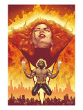 New X-Men 150 Cover: Phoenix and Wolverine Affiches par Phil Jimenez
