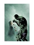 Incredible Hulk No.82 Cover: Hulk and Patricia Art