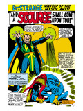 Strange Tales No.161 Cover: Dr. Strange and Baron Mordo Posters by Dan Adkins