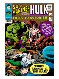 Tales to Astonish No.77 Cover: Hulk, Banner and Bruce Prints by Vince Colletta