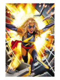 Ms. Marvel No.17 Cover: Ms. Marvel Art