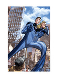 Marvel Adventures Fantastic Four No.46 Cover: Mr. Fantastic and Invisible Woman Prints by David Williams