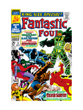 Fantastic Four Annual #5 Cover: Black Bolt Lminas por Jack Kirby