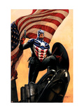 Captain America 34 Cover: Captain America Print by Epting Steve