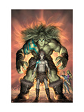 Planet Skaar Prologue 1 Cover: Skaar Posters par Alex Garner