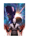 Son of Hulk 16 Cover: Hiro-Kala and Galactus Prints