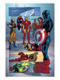 Marvel Knights Spider-Man No.13 Group: Spider-Man Kunstdrucke von Tan Billy