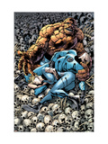 Fantastic Four 556 Cover: Thing Print by Bryan Hitch