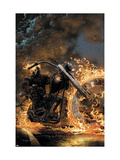 Ghost Rider 1 Cover: Ghost Rider Affiches