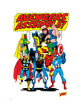 Giant-Size Avengers/Invaders No.1 Group: Thor Posters by Sal Buscema