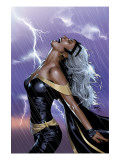 Uncanny X-Men No.449 Cover: Storm Swinging Print by Land Greg