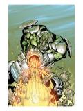 Nick Furys Howling Commandos No.2 Cover: Frankenstein Prints by Francisco Eduardo