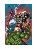 Marvel Adventures The Avengers No.36 Cover: Hulk Prints by Ig Guara
