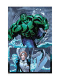 Hulk Team-Up No.1 Group: Hulk, Angel and Iceman Art by Greene Sanford