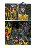 X-Men: First Class 2 Headshot: Cyclops Print by Roger Cruz