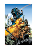 Marvel Adventures Fantastic Four 5 Group: Mr. Fantastic Prints by Manuel Garcia