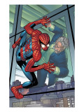 Amazing Spider-Man 506 Cover: Spider-Man and Ezekiel Print by Romita Jr. John