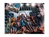 Dark Avengers No.1 Group: Marvel Boy Art by Mike Deodato Jr.