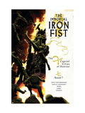 The Immortal Iron Fist 14 Cover: Iron Fist Poster by Kaare Andrews